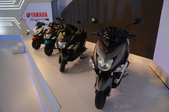 Coverage: Yamaha at the Auto Expo 2016