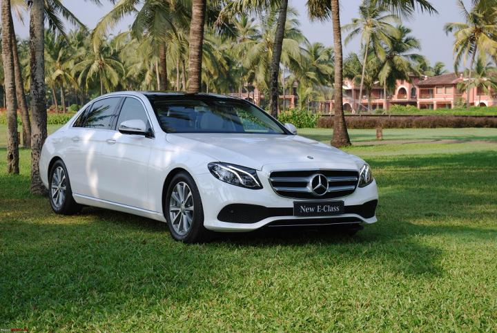 mercedes-benz e 220d launched at rs. 57.14 lakh | team-bhp