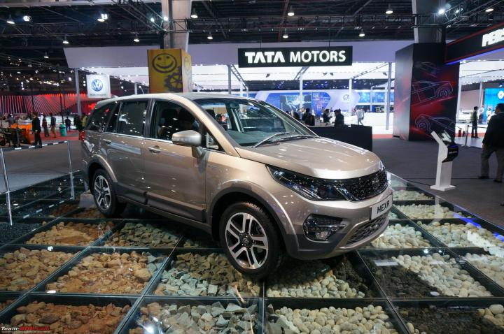 Tata Hexa - A close look