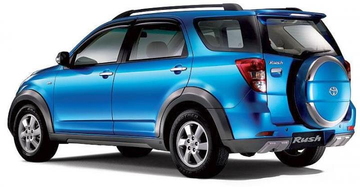 Toyota Suvs in India Rush |