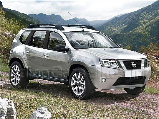 Terrano, that's the name of Nissan's Duster based SUV ...