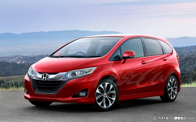 2014 Honda Jazz: Speculative render and details