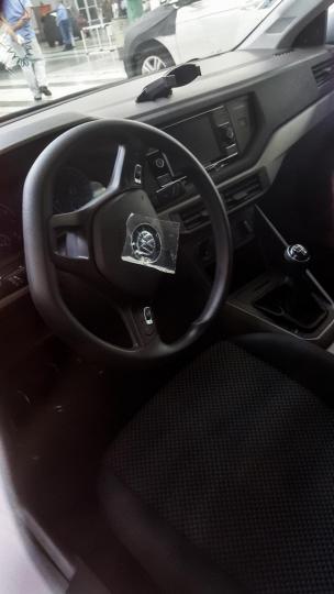 Next Gen Volkswagen Polo Interior Spied Team Bhp