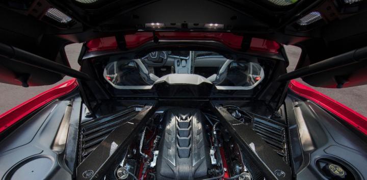 Chevrolet Unveils Mid Engined Corvette Stingray Team Bhp