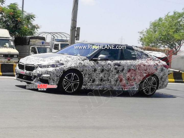 BMW 2 Series Gran Coupe spotted in Pune