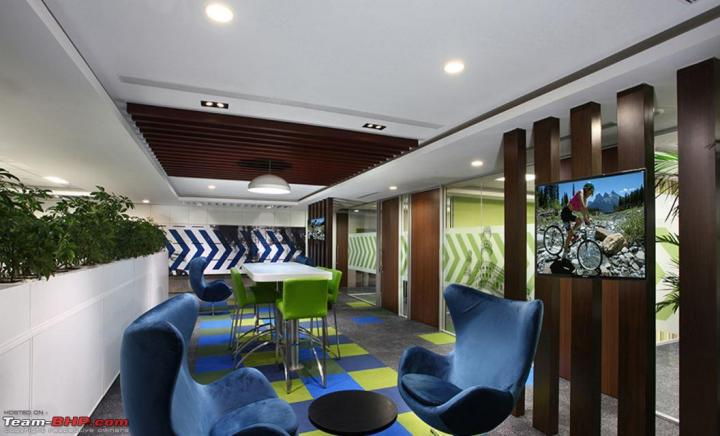 general motors 39 cool new office at gurgaon team bhp. Cars Review. Best American Auto & Cars Review