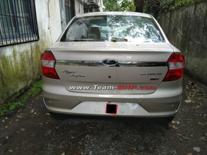 Ford Aspire facelift leaked ahead of launch