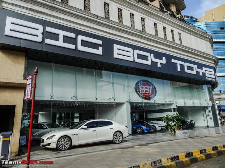 Big Boy Toys Opens Its First Showroom In Mumbai Team Bhp