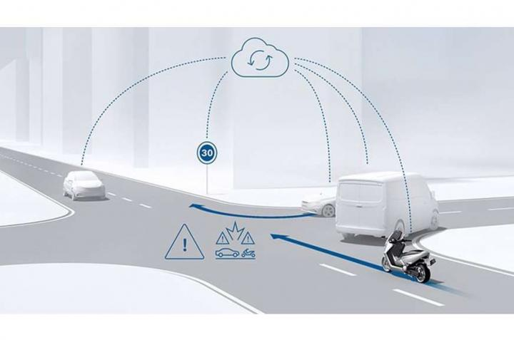 Bosch announces future safety tech for 2-wheelers