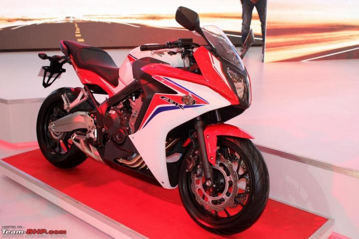Honda CBR 650F launch on August 4, 2015, bookings open