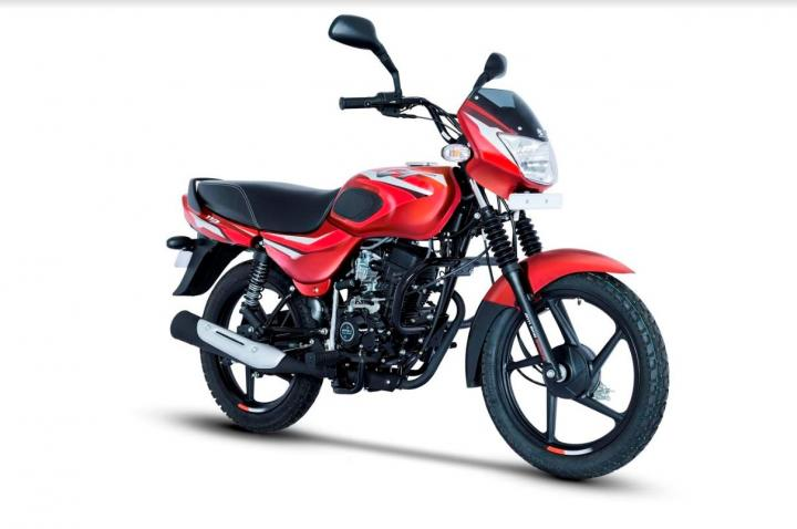 Bajaj CT110 launched at Rs. 37,997