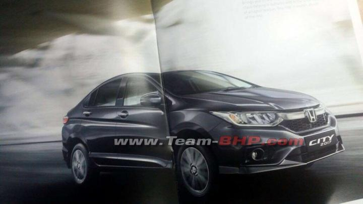 Scoop! 2017 Honda City facelift's brochure leaked