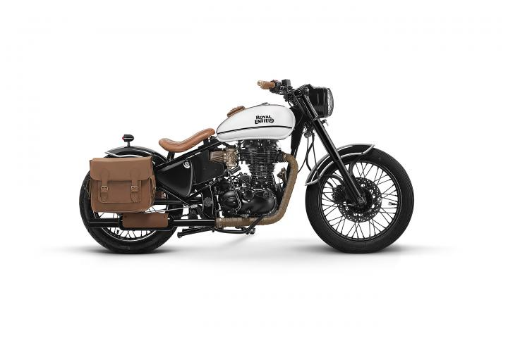 Royal Enfield collaborates with four bike custom builders