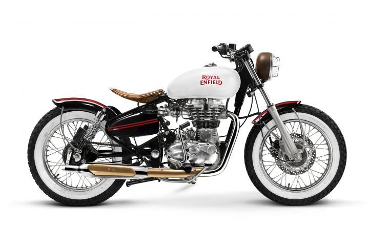 flipkart bike spare parts royal enfield collaborates with four bike custom builders 10854