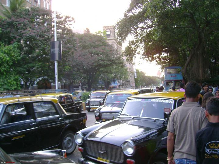 End of the road for Premier Padmini taxis in Mumbai