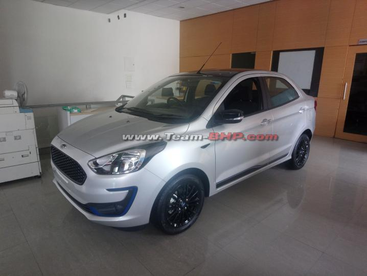 More pics & details: Ford Aspire Blu