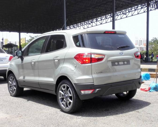More Images  Ford Ecosport Facelift Spotted In India