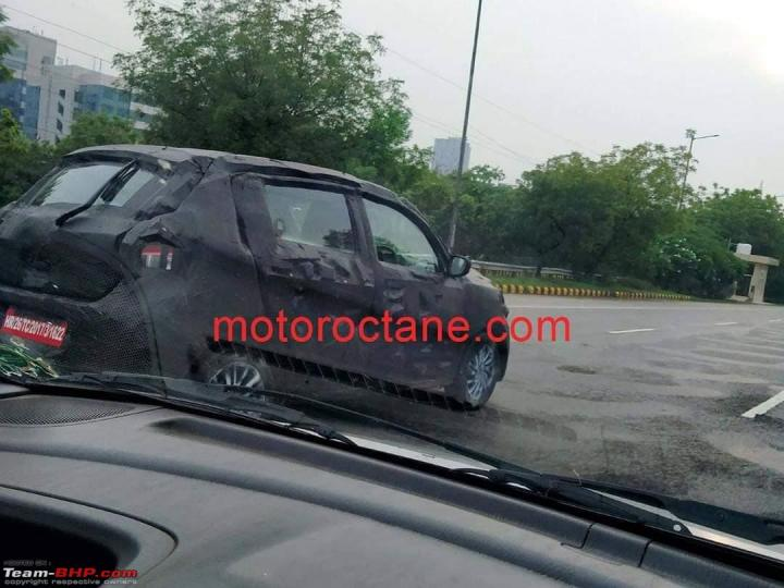 Could this be the next-gen Maruti Celerio (codenamed: YNC)?