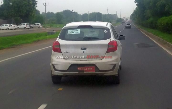 Scoop! Ford Figo CNG caught testing