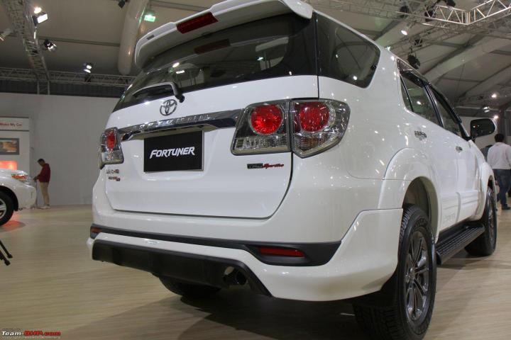 Toyota Launches Fortuner 2 5l At Rs 24 44 Lakh Team Bhp
