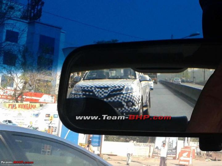 Scoop Chinese Foton Tunland Pick Up Caught Testing