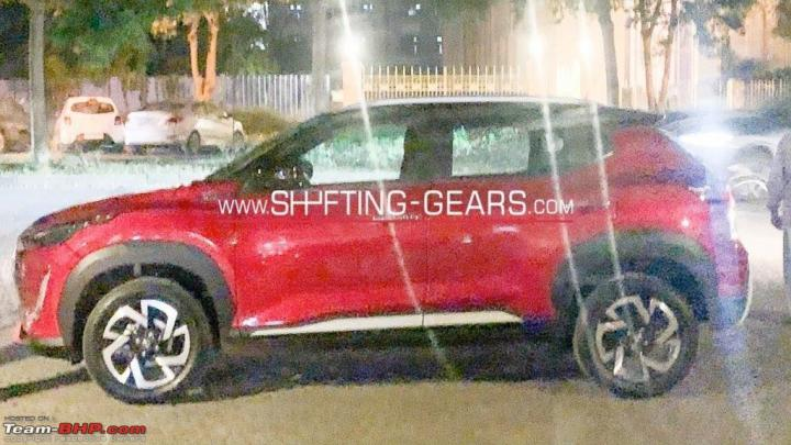 More images: Nissan Magnite spotted sans camouflage
