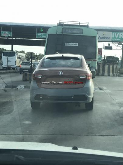 Scoop! Tata Tigor with twin-barrel exhaust spotted