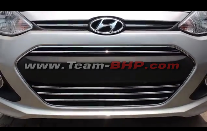 Hyundai xcent 20th anniversary special edition spied