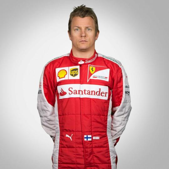 Ferrari Retains Kimi Raikkonen For 2016 Formula One Season
