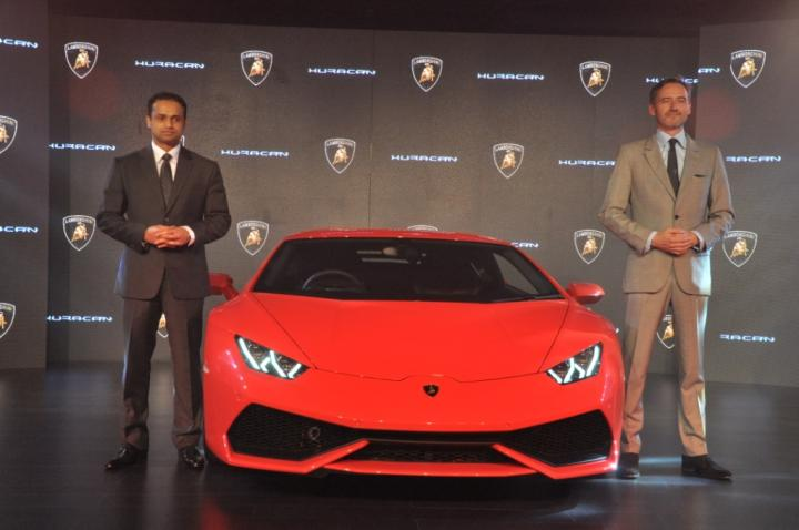 lamborghini huracan launched in india at rs crore team bhp. Black Bedroom Furniture Sets. Home Design Ideas