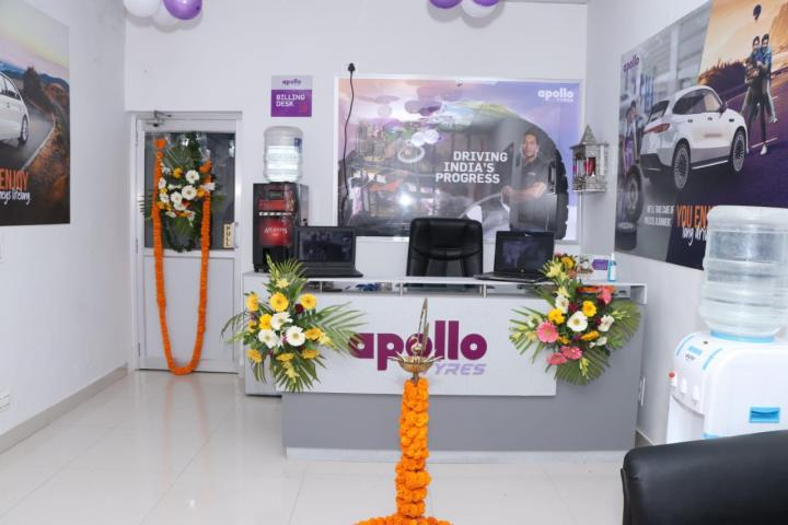Apollo inaugurates a dedicated service centre for Tyres!
