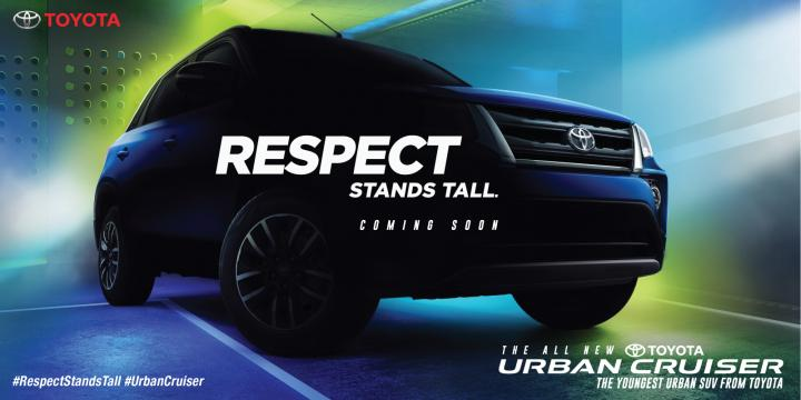Toyota Urban Cruiser's grille revealed in new teaser
