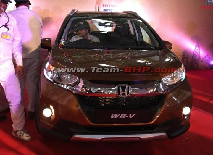 Scoop Pics! Honda WR-V production begins in India