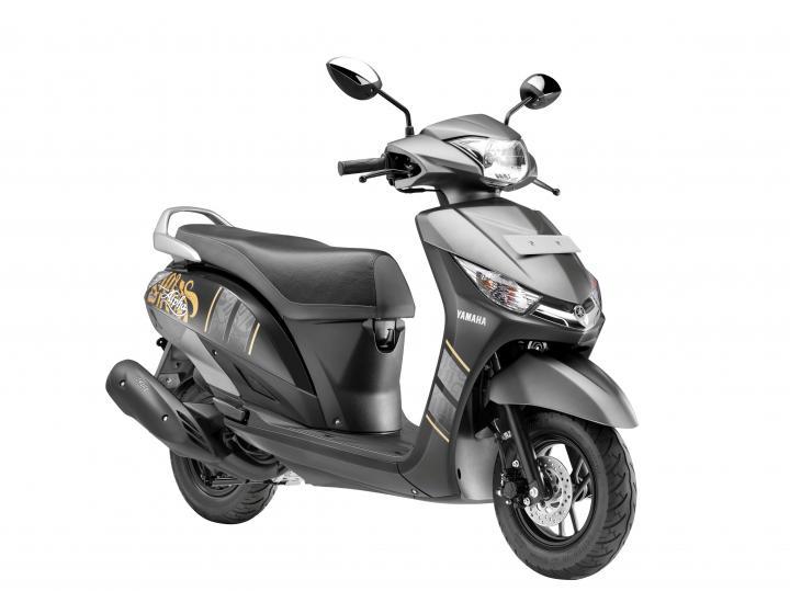Honda Dio 2018 >> Yamaha Cygnus Alpha scooter gets disc brake variant | Team-BHP