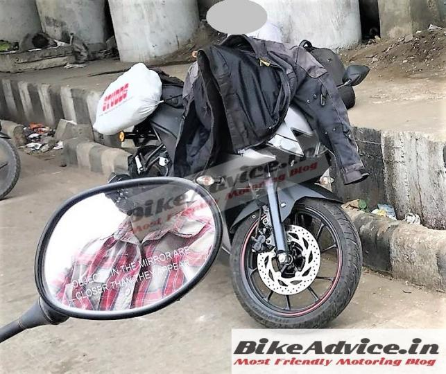 New R 15 V3: Yamaha R15 V3.0 Spotted Testing In India