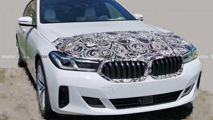 BMW 6 Series GT facelift spied