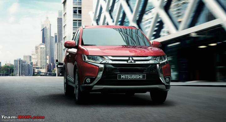2017 Mitsubishi Outlander - India launch later this year
