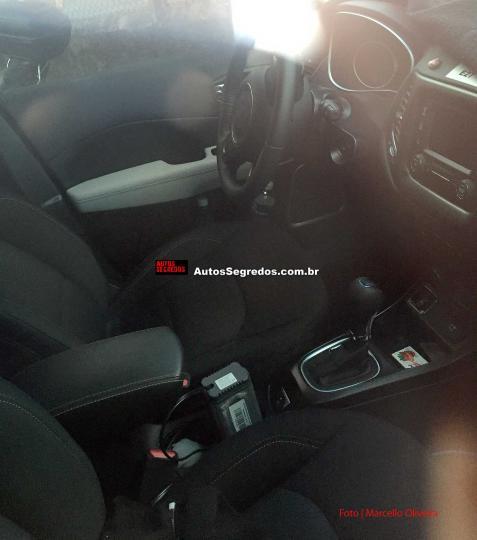 Upcoming Jeep Premium SUV - Interiors Spied