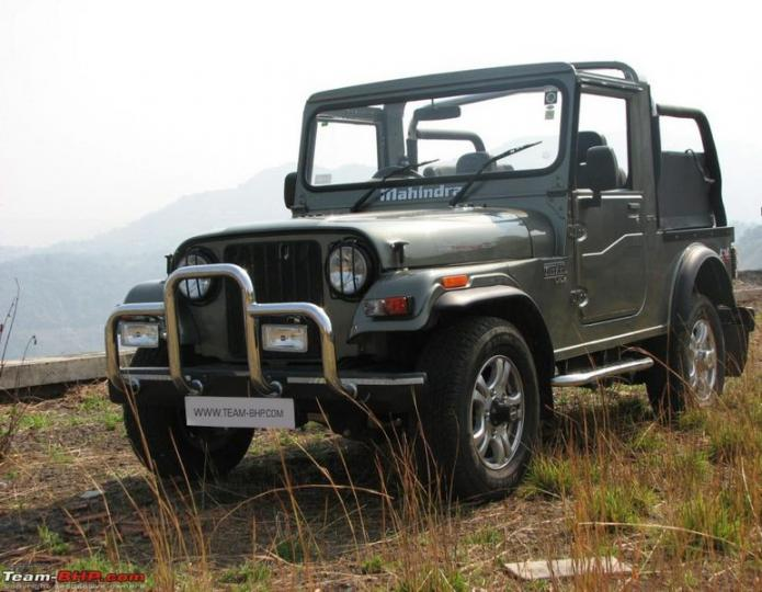 Mahindra Thar Now With A C And Immobilizer Team Bhp