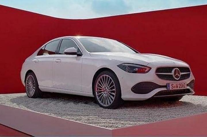 2021 Mercedes-Benz C-Class leaked