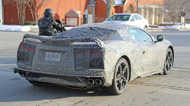Mid-engined Corvette C8 To Debut On July 18, 2019
