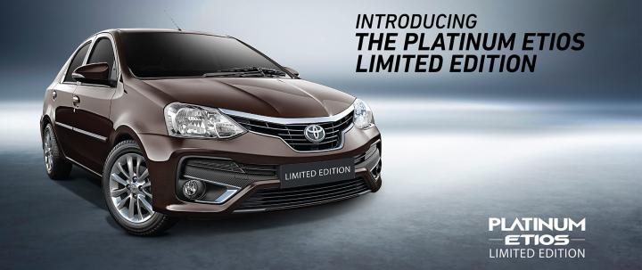 Toyota Etios Platinum Limited Edition Launched