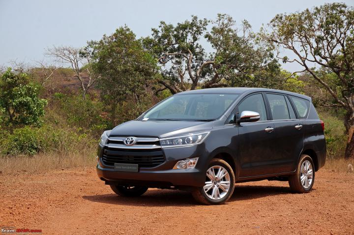 Toyota Innova Crysta may not get 2.8L diesel engine option