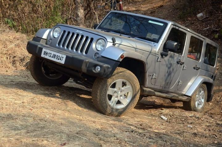 Jeep Wrangler petrol launched in India at Rs. 56 lakh ...