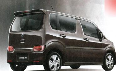 2017 Suzuki WagonR images leaked in Japan