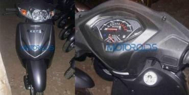 2017 Honda Activa 4G spotted, might get AHO & BS IV engine