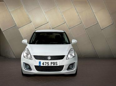 Suzuki Swift gets a facelift for 2014