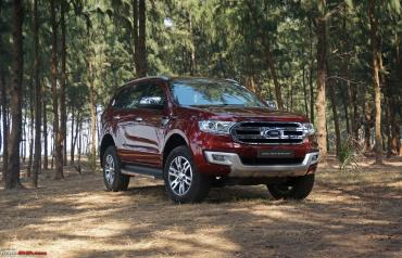 Ford Endeavour - 2 variants discontinued, MT gearbox scrapped