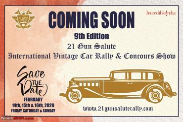 21 Gun Salute Concours to be held from February 14-16, 2020