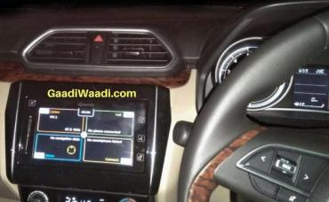 2017 Maruti Swift Dzire - interiors revealed in new spy shots